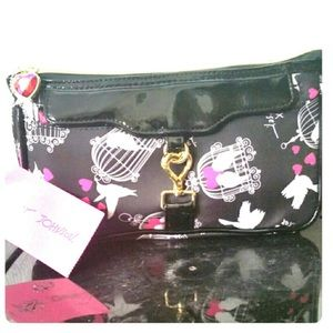 Betsey Johnson Birds Cosmetics Bag